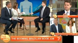 Dr Beldholm The Morning Show Arm Lift