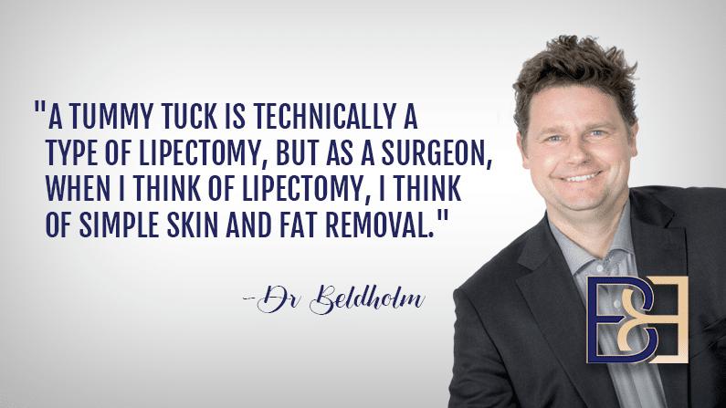 Tummy Tuck - Lipectomy Type