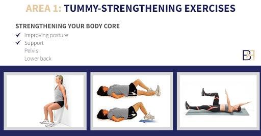 Tummy Strengthening Excercises