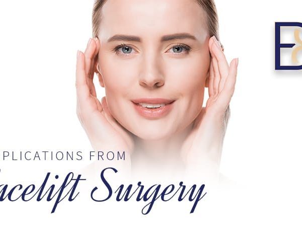 Complications from Facelift