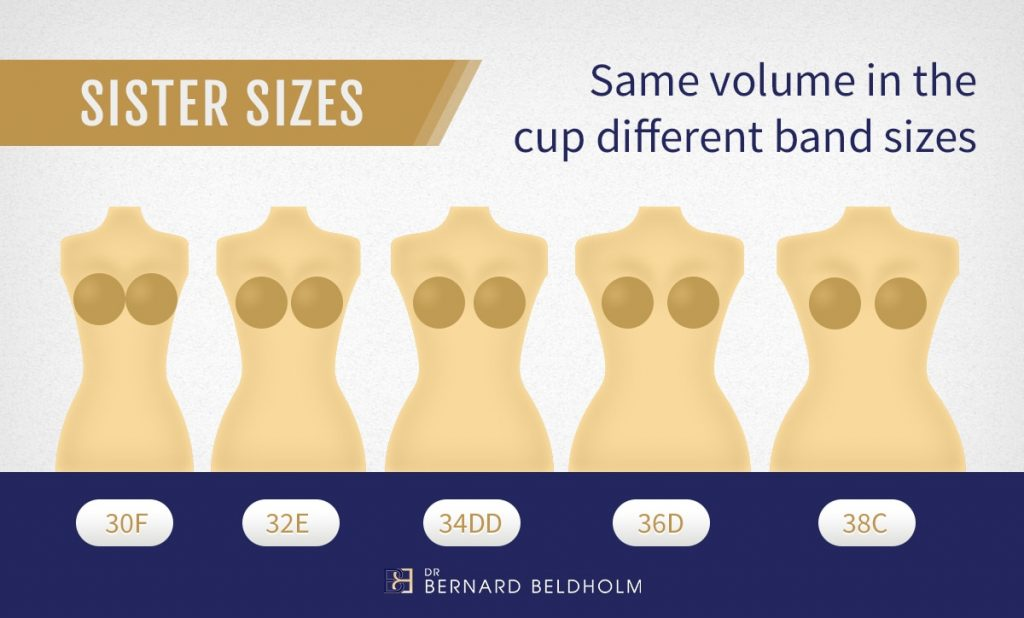 Dr Beldholm Same Volume in the cup - Different Band Sizes Infographic